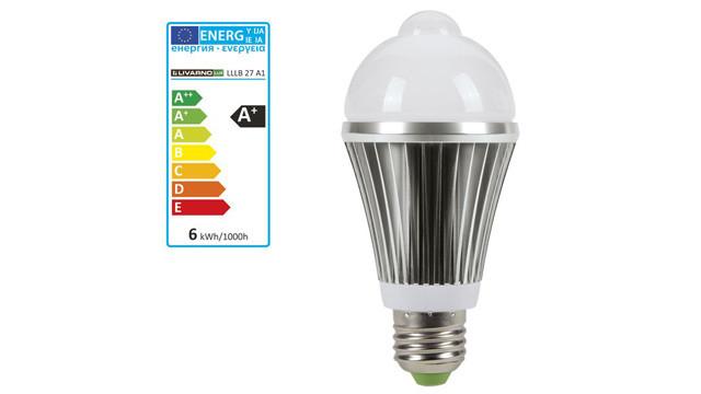 Livarno Lux LED-Lampe mit Bewegungssensor ©Lidl