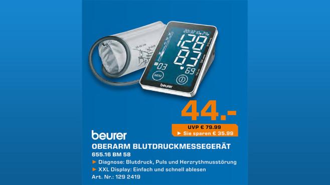 Beurer BM 58 ©Saturn