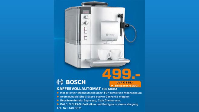 Bosch VeroCafe Latte TES 50351 ©Saturn