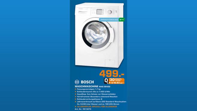Bosch WAQ28422 ©Saturn