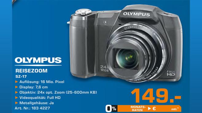 Olympus SZ-17 ©Saturn