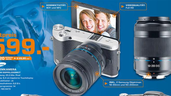 Samsung NX300M Kit ©Saturn