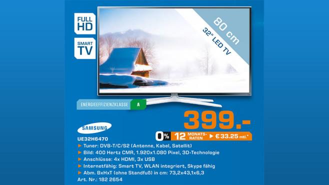 Samsung UE32H6470 ©Saturn