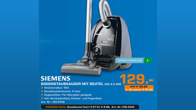 Siemens VSZ 3A330 ©Saturn