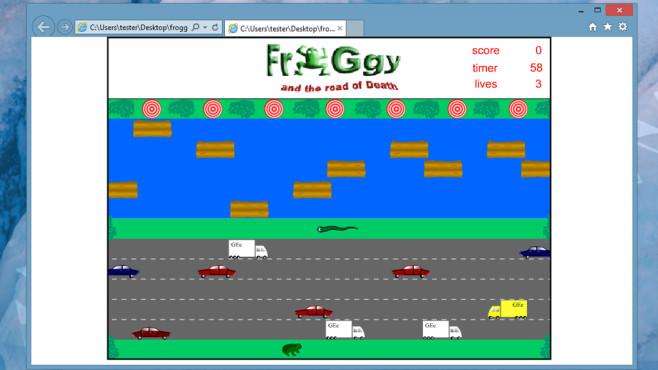 Froggy, Moorfrosch XS: Spiele mit Fröschen ©COMPUTER BILD
