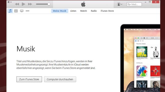 iTunes: Songs der Stars kaufen ©COMPUTER BILD