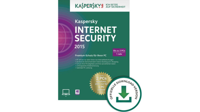 Kaspersky Internet Security 2015 © Amazon