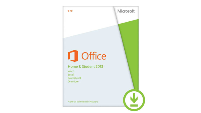 Microsoft Office Home and Student 2013 ©Amazon