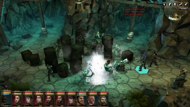 Blackguards 2: Höhle ©Daedalic