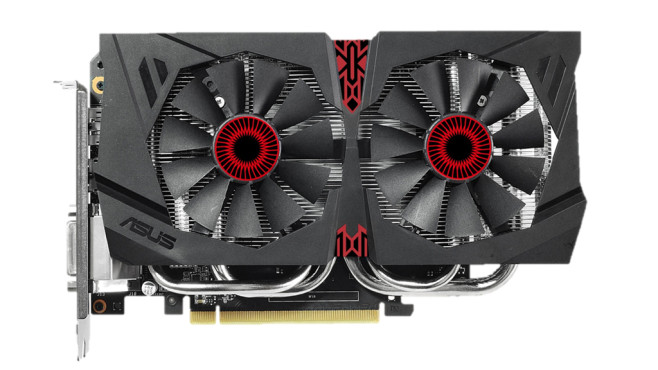 Geforce GTX 960 (Asus Strix GTX960 DC2OC GD5) © Asus