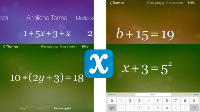 Algebra Touch © Regular Berry Software LLC
