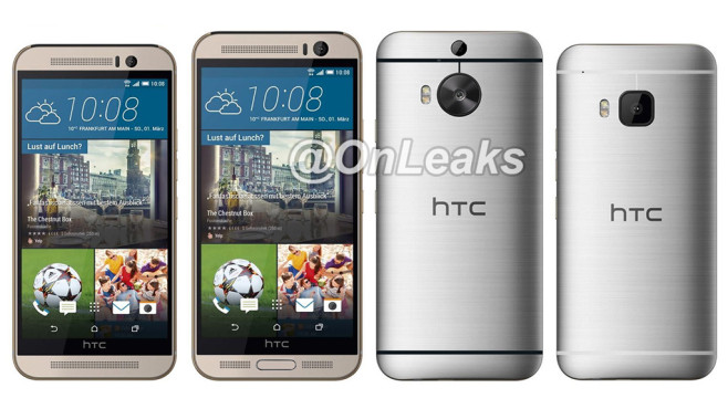 HTC One (M9) Plus ©Steve Hemmerstoffer, @Onleaks