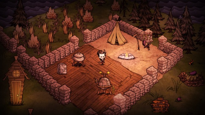 Playstation Plus: Don't Starve © Sony, Klei Entertainment Inc.