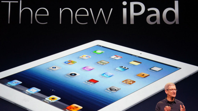2012: The New iPad © Apple