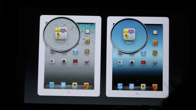2012: iPad mit Retina Display © Apple