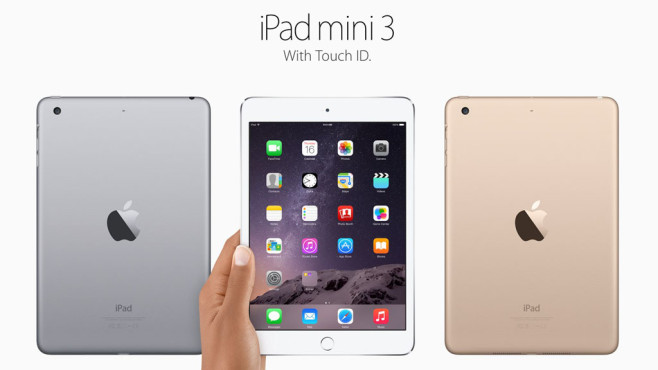 2014: iPad mini 3 © Apple