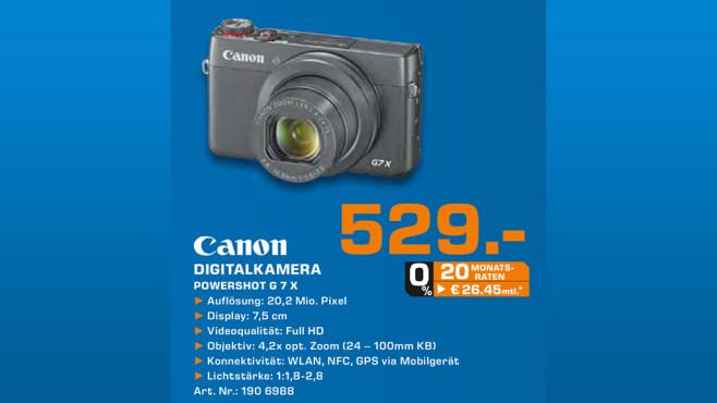 Canon PowerShot G7 X ©Saturn