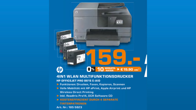 Hewlett-Packard HP Officejet Pro 8615 © Saturn