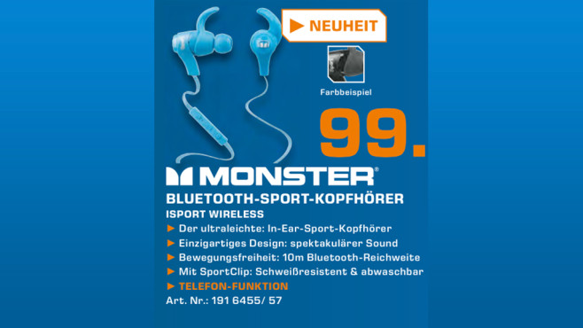 MONSTER iSport Wireless © Saturn