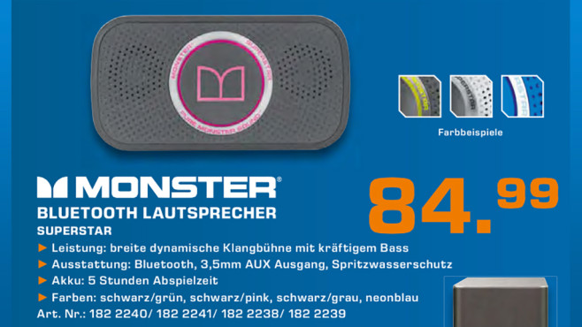 Monster Superstar © Saturn