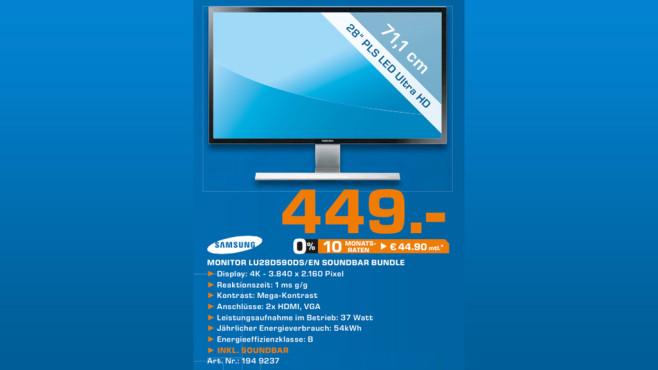 Samsung U28D590D ©Saturn