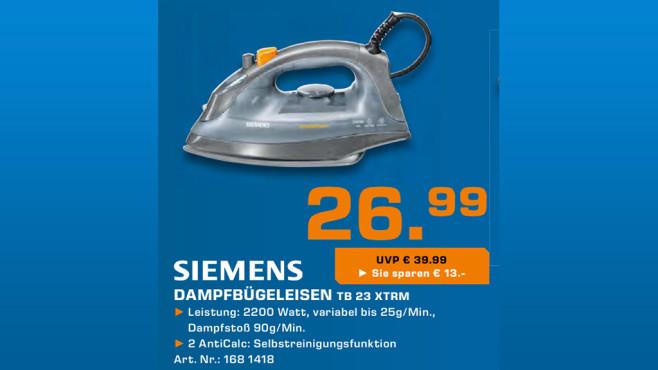 Siemens TB 23 XTRM ©Saturn