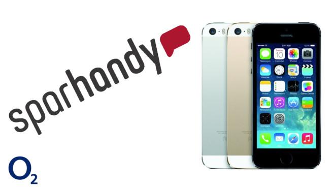 iPhone 5S mit LTE-Allnet-Flat ©Apple, Sparhandy, O2