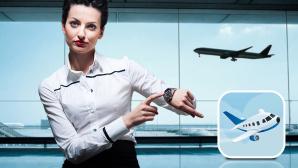 Die App f�r Flugversp�tungen ©Anya Berkut - Fotolia.com; pio3 - Fotolia.com