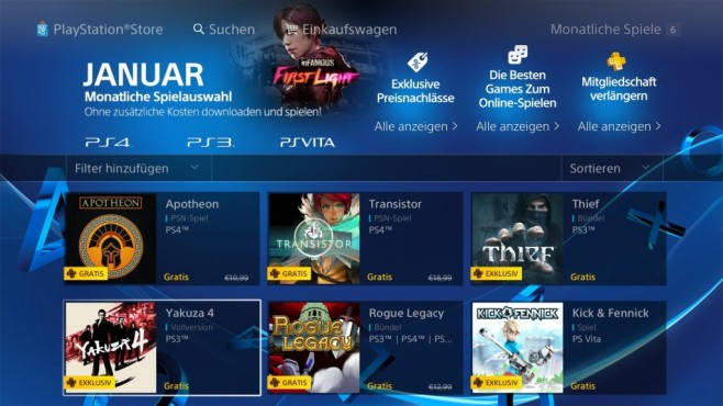 Playstation Plus: Die Titel im Februar © Sony