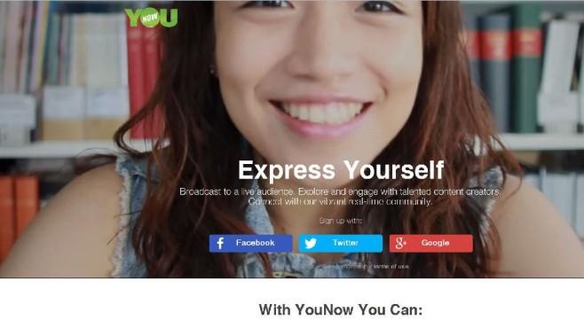 YouNow Screen ©YouNow