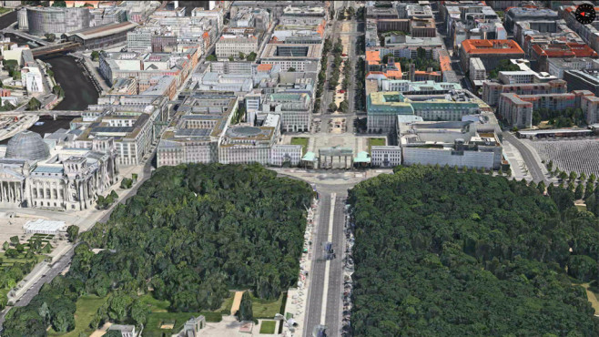 Apple Maps: Berlin © Apple, COMPUTER BILD