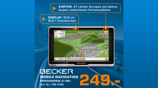 Becker Professional.6 LMU © Saturn