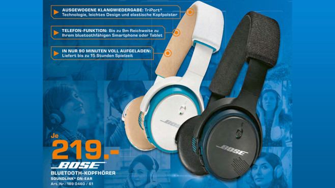 Bose SoundLink On-Ear © Saturn