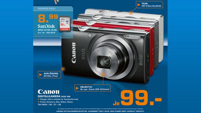 Canon IXUS 160 ©Saturn