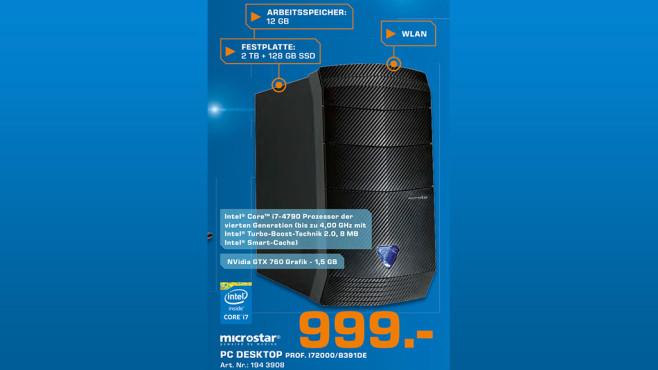 Microstar Professional i72000 ©Saturn