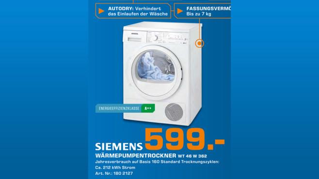 Siemens WT46W362 ©Saturn