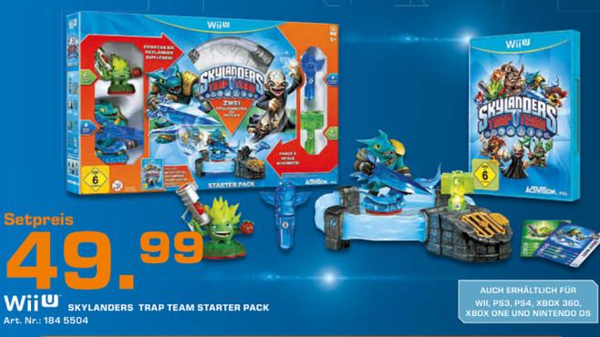 Skylanders: Trap Team - Starter Pack für Wii U © Saturn