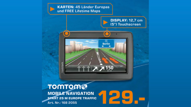 TomTom Start 25 M Europe ©Saturn