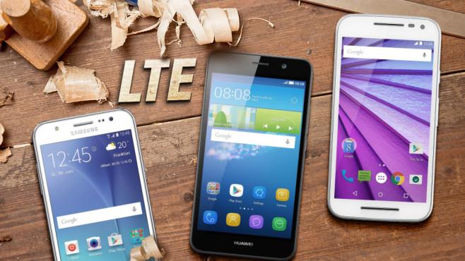 LTE-Smartphones unter 200 Euro ©istock.com/npdesignde, Huawei, Google, Samsung