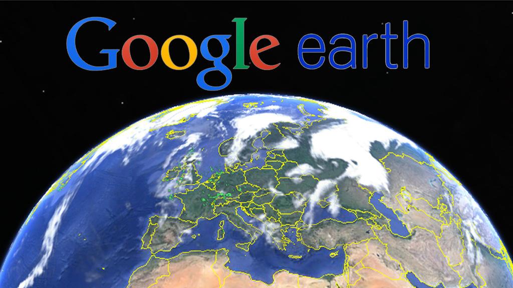 Suche Google Earth