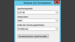 ReFS: Die wichtigsten Infos zum NTFS-Nachfolger In Windows Server R2 ist die ReFS-Technik aktivierbar, unter Windows 7 oder 8.1 nicht. ©COMPUTER BILD