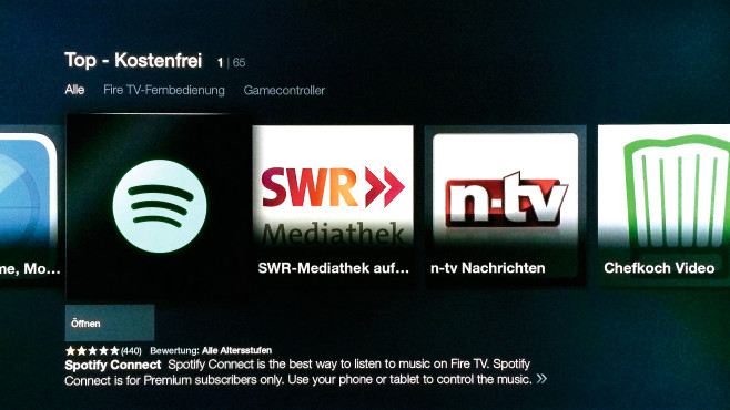 Spotify Connect © COMPUTER BILD