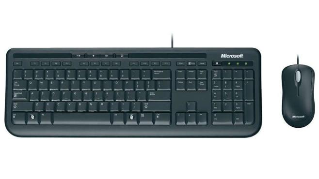 Tastatur und Maus anschließen ©Microsoft