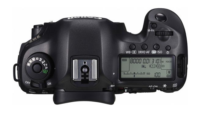 Canon EOS 5DS Top ©Canon