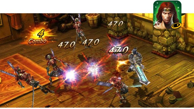 Eternity Warriors 3 © Glu Games