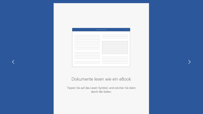 Word für Windows 10 © COMPUTER BILD