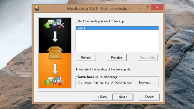 MozBackup: Browser und E-Mail-Daten schützen ©COMPUTER BILD