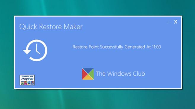 Quick Restore Maker: Windows-Einstellungen sichern ©COMPUTER BILD