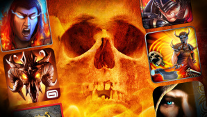 Hack'n'Slash-Games © Tryfonov - Fotolia.com, Gameloft, Actoz Soft, Com2uS USA, Making Fun, Crescent Moon Games, MobileBits