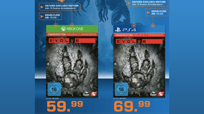 Evolve (Xbox One) © Saturn